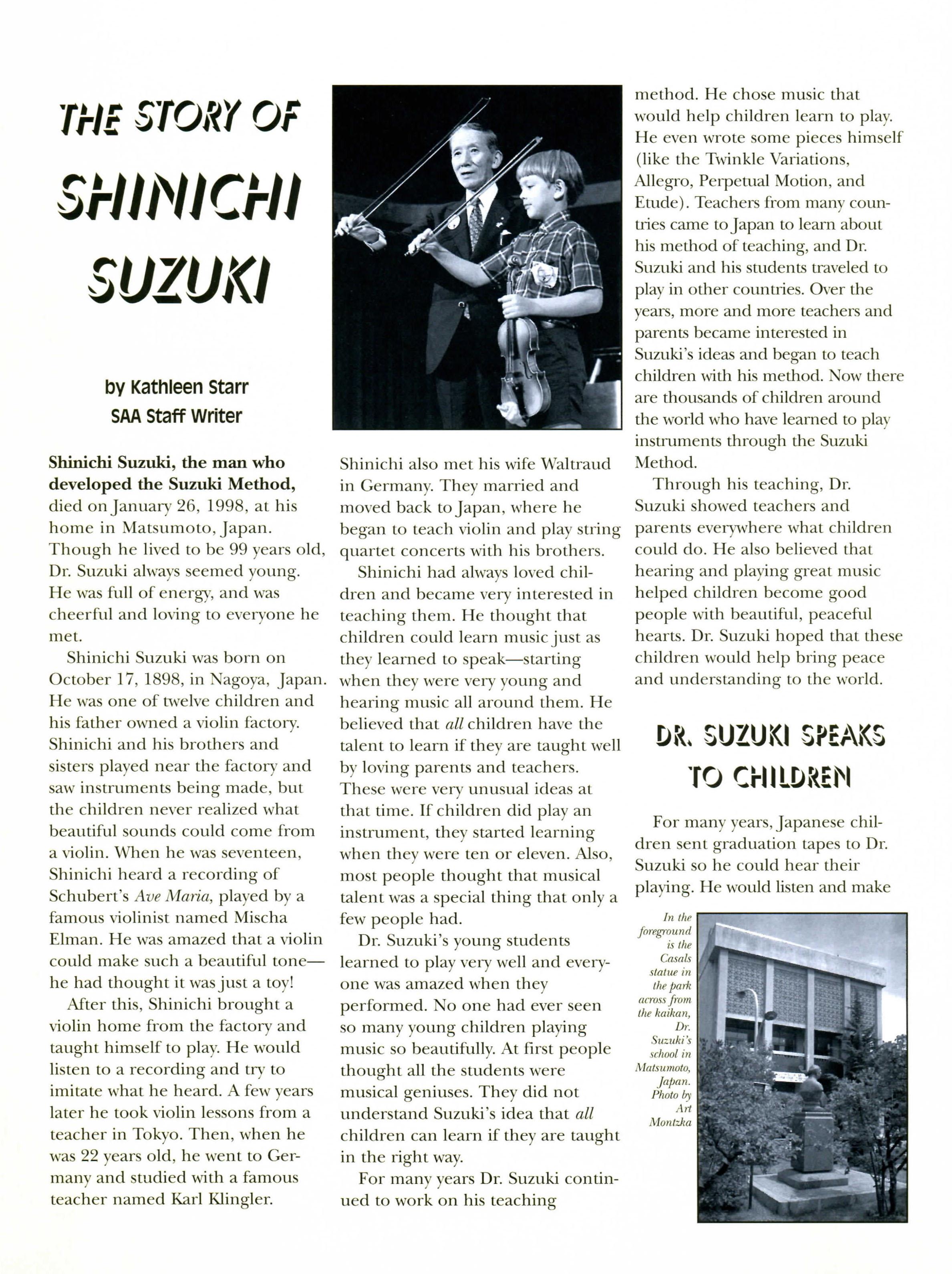 The Story of Suzuki 1