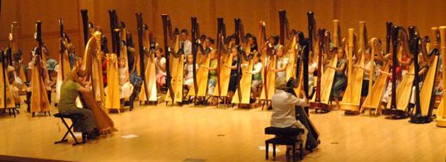 Suzuki Harp Concert